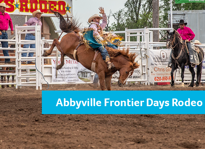 Event Promo Photo For Abbyville Frontier Days PRCA Rodeo & BBQ