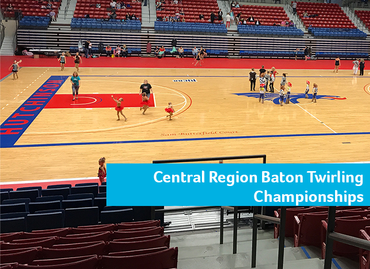 USTA Central Region Baton Twirling Championships Photo - Click Here to See