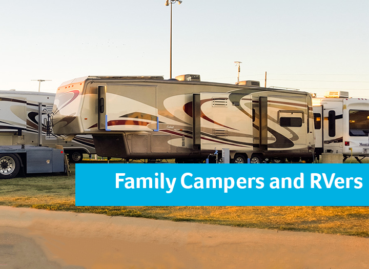 Event Promo Photo For Family Campers and RVers Campvention