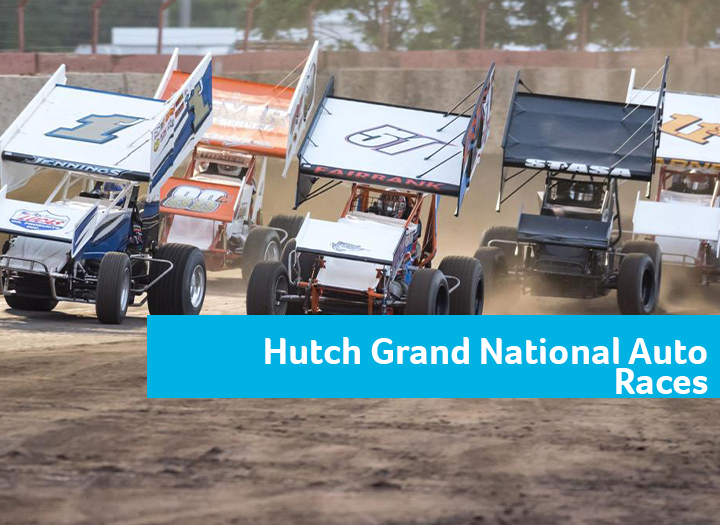 64th Annual Hutchinson Grand National Auto Races Photo - Click Here to See
