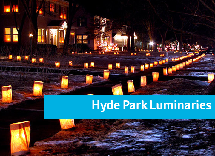 Hyde Park Luminaries Photo - Click Here to See
