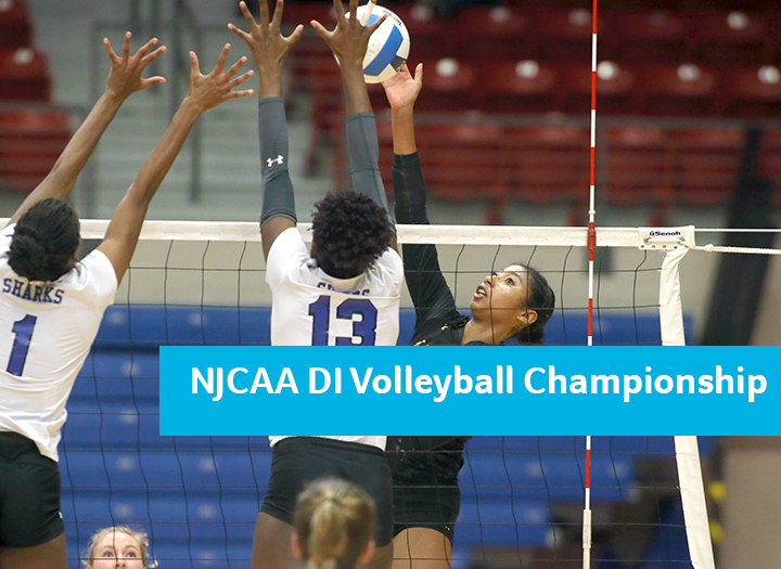 NJCAA DI Volleyball Championship Photo