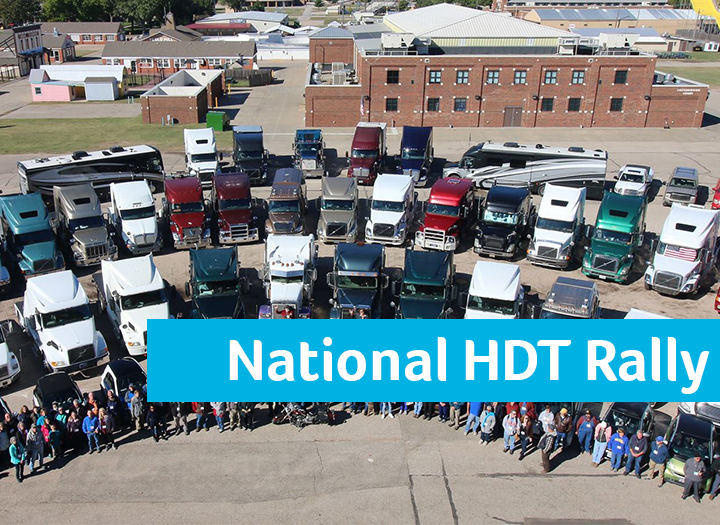 National Heavy Duty Truck Rally Photo - Click Here to See