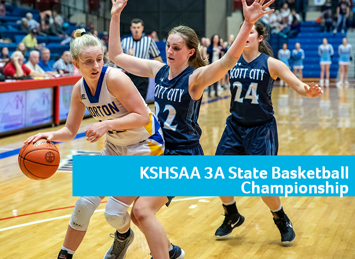 KSHSAA 3A State Boys & Girls Basketball Championship Photo - Click Here to See