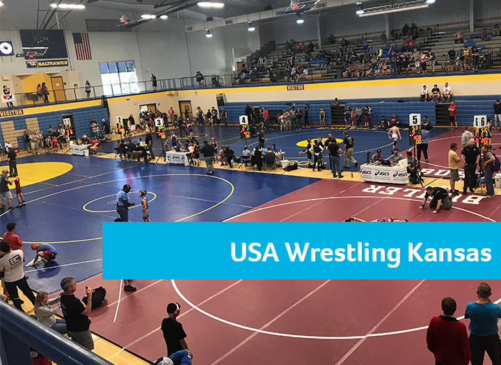 USA Wrestling Kansas Freestyle/Greco Roman State Tournament Photo - Click Here to See