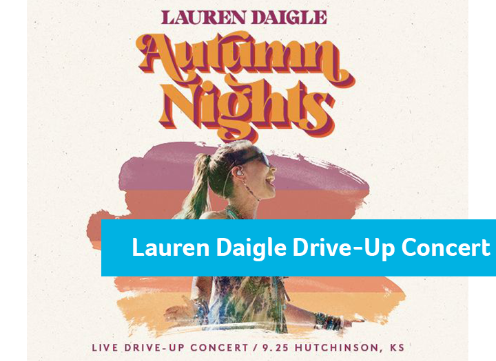 "Lauren Daigle ""Autumn Nights"" Drive-Up Concert Photo - Click Here to See"