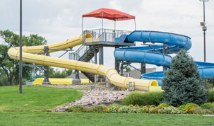 Salt City Splash Aquatic Center Slide Image