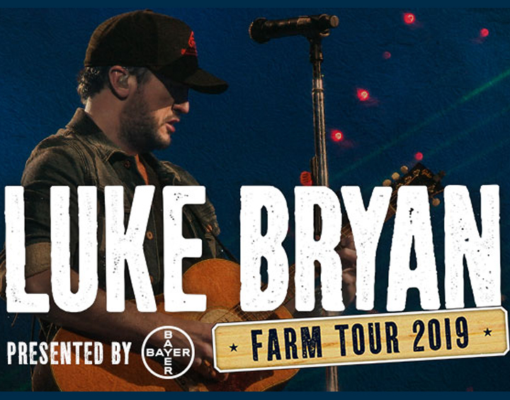 Rain Relocates Luke Bryan Farm Tour  to Kansas State Fairgrounds Photo - Click Here to See