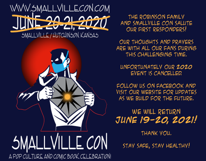Smallville Con Cancels 2020 Event Photo - Click Here to See