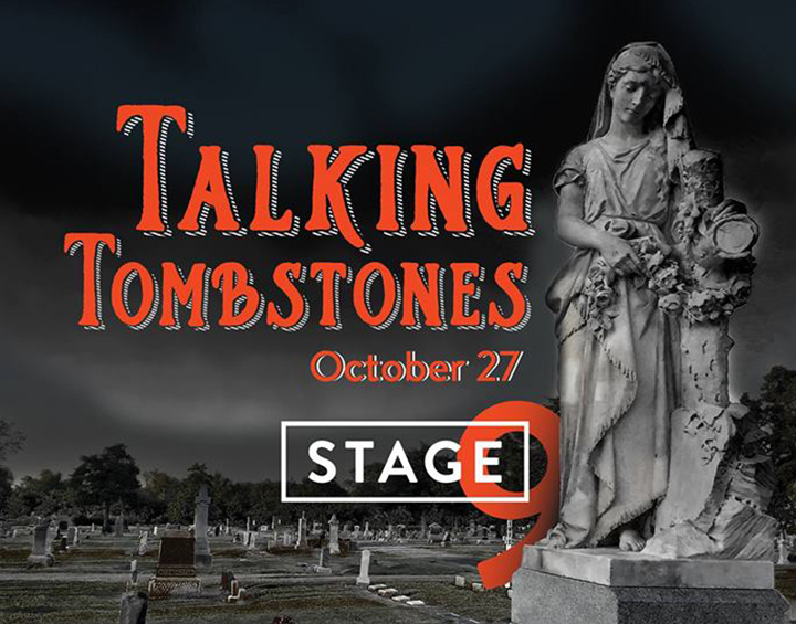 Stage 9's Annual Talking Tombstones Returns to Eastside Cemetery Photo - Click Here to See